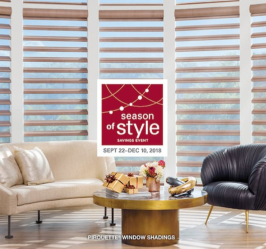 6 Window Blinds and Shades in the Hunter Douglas Fall Sale