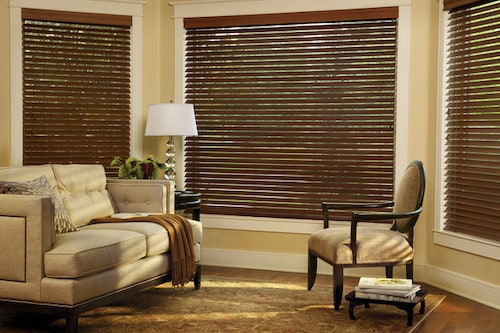 Parkland® Wood Blinds - authentic wood blinds - United Decorators Brooklyn, NY
