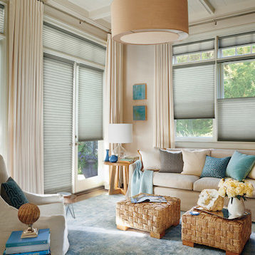 Honeycomb-Shades-with-Drapes