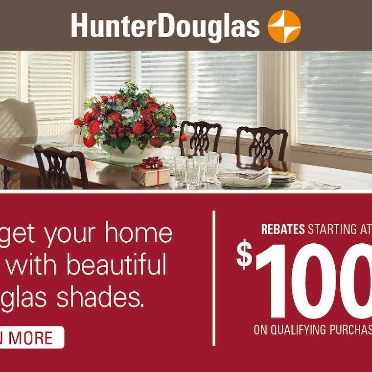 hunter douglas season, window treatments